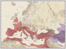 Europe - 330 AD by Cyowari