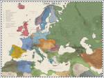 Europe 1880 by Cyowari