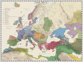 Europe - 930 AD by Cyowari