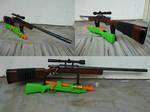 RSCB BuzzBee Hunter / Bolt-Action Nerf Rifle 2 by hoellenhamster