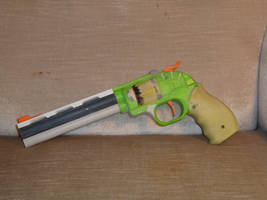 WIP: Nerf Doublestrike, InLine Clip Sixshooter 2 by hoellenhamster