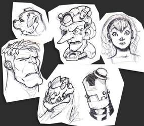 Random Sketches are Fun by Zatransis