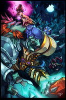 World of Warcraft Pin Up by Zatransis