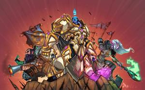 World Of Warcraft Pin Up 2 by Zatransis