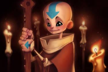 The Last Airbender: Aang by Zatransis