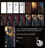 Catwoman: Steps by Zatransis