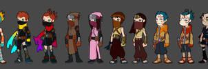 Ninjas by Zatransis
