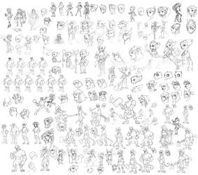 Sketch-plosion by Zatransis