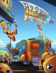 Mega-Man: Spring Breakdown by Zatransis