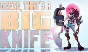 Big Knife by Zatransis