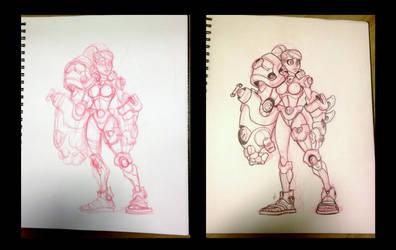 Future Armor Design by Zatransis