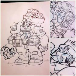 Mario Sketch Jam by Zatransis