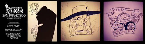 SketchBomb January, 26th 2013 by Zatransis