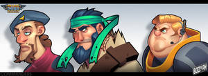 Commanders - Round 3 by Zatransis