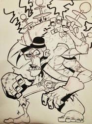 Frankenstein's Monster by Zatransis