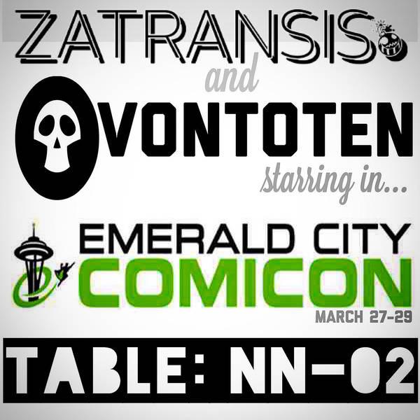 Emerald City Comicon 2015 by Zatransis