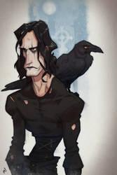Mr Draven (The Crow) by Zatransis