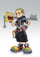 The New Keyblade Master by Zatransis