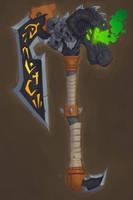Agony's Weapon by Zatransis