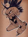 SketchBomb BCN - Zombie Punk by Zatransis