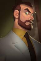 Dr. Algernop Krieger by Zatransis