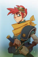 Crono (Chrono Trigger) by Zatransis
