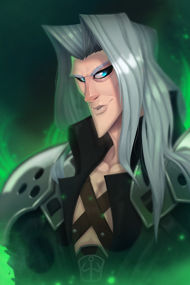 Sephiroth - Final Fantasy VII by Zatransis