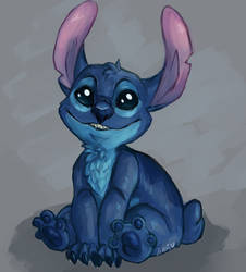 Stitch by jelon-melon