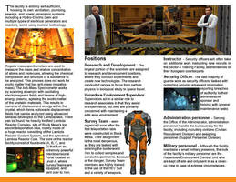 Black Mesa Research Facility Employee Brochure Pt2 by faroukh