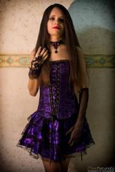 Purple Goth by skullkill88