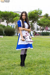 Alice Madness Returns Cosplay by skullkill88
