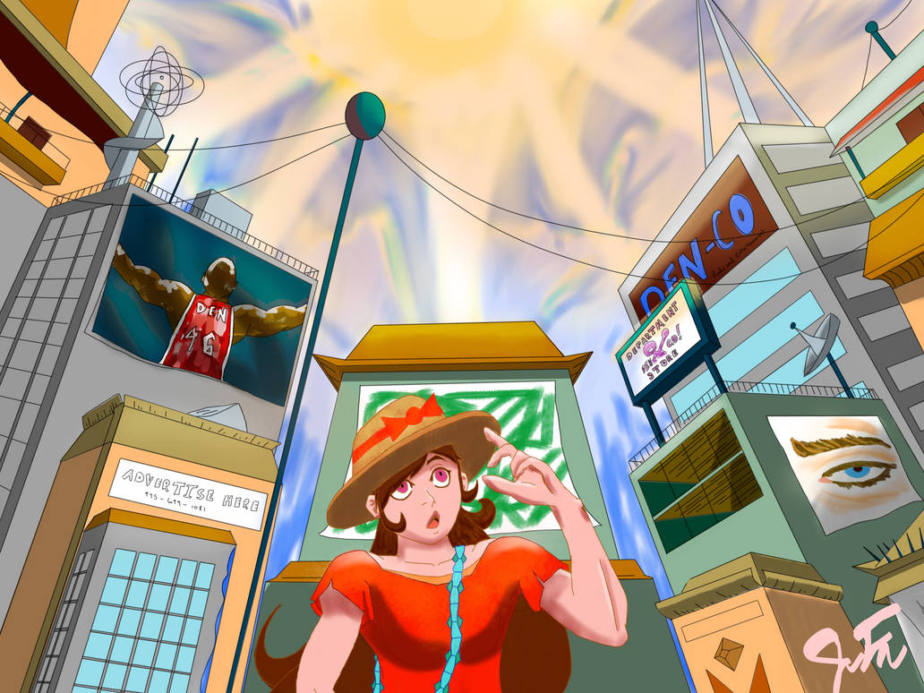 8c5994dda87d Country girl in the city by Flossy-Nerd on DeviantArt