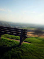 The Brown Bench by clauds27