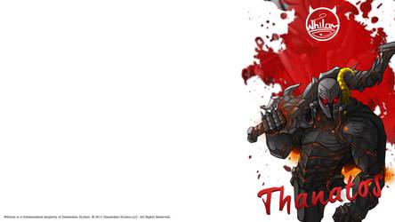 Thanatos Wallpaper by dreamken-studios