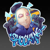Shocking! (CSGO Sticker) by zombie