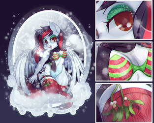 Christmas Cheer YCH Result by zombie