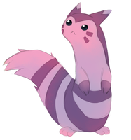 Shiny Furret by Buga3000
