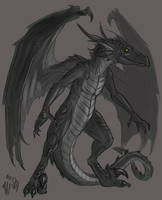 dragon by Kerneinheit