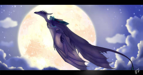 SW_Night Flight by Kerneinheit