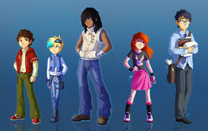 Blackout's main cast by Kerneinheit