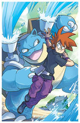 Pokemon 20th Anniversary - BLUE by AndyKluthe