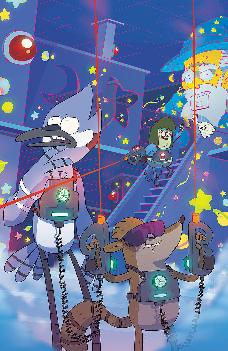 Regular Show #19 - Cover B by AndyKluthe