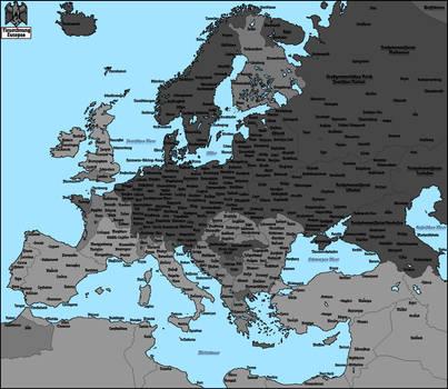 Nazi Map Of Europe.Nazi Map Of Europe 3 By Totentanz0 On Deviantart
