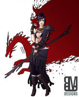 Morrigan: Witch of the Wilds by ColourmeRen