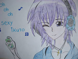 oh oh oh sexy Ikuto by mangaluvver