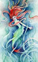 Seaweed Mermaid by ShannonValentine