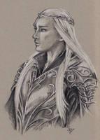 Thranduil Warrior by ShannonValentine