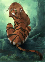 Tigress by konekonoarashi