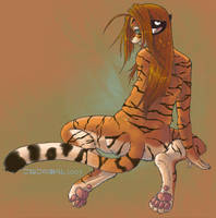 Tigress__Innocence by konekonoarashi