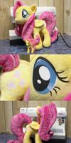 Fluttershy Plush by CindersDesigns